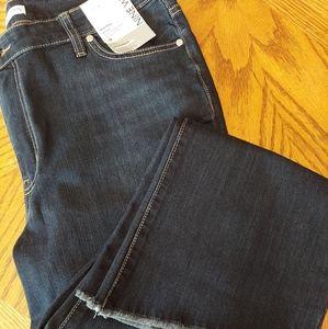 Nine West Jeans Kick Flare Dark Wash